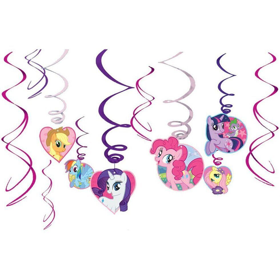 Спирали My Little Pony (12 шт.)